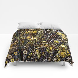 Forsythia in Bloom Comforters
