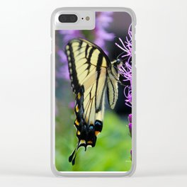 Swallowtail Summer Clear iPhone Case