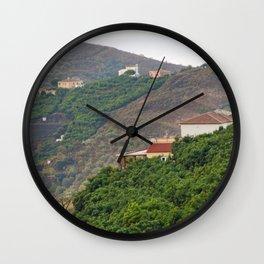 Frigiliana Andalusia Spain Wall Clock