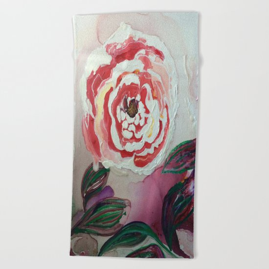 Mother's Day Flowers, Flowers That Will Last Forever Beach Towel