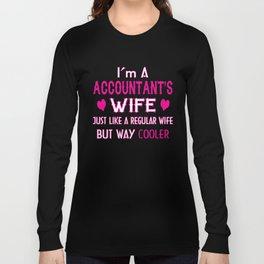 Accountant's Wife Long Sleeve T-shirt