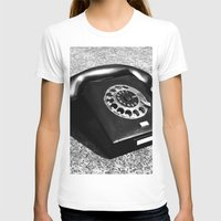 telephone T-shirts featuring telephone by Falko Follert Art-FF77