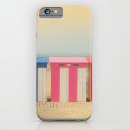 Beach cabins Malo iPhone Case