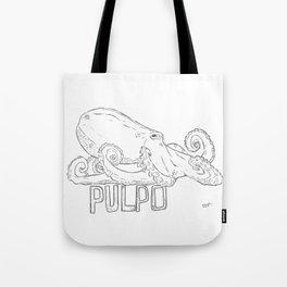 Pulpo Tote Bag