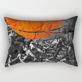 Basketball Art, Sports Artwork Rectangular Pillow