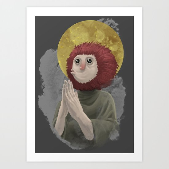 Owl Messiah Art Print