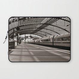 Train-Station of Berlin Laptop Sleeve