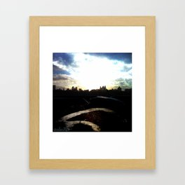New York Bound Framed Art Print