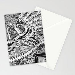 Winged Mechanics Stationery Cards