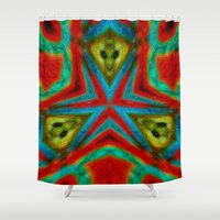 moth Shower Curtains featuring Moth by RingWaveArt