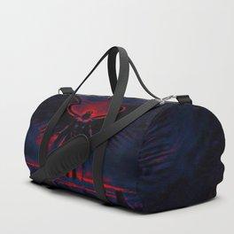 Angelic Guardian Red Blue Duffle Bag