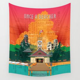Once A Beacher Wall Tapestry