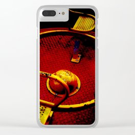 Carousel playground roundabout  Clear iPhone Case