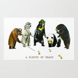 A Sleuth of Bears Rug