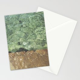 Sea contrast Stationery Cards
