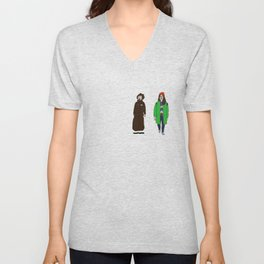 Broad City - Mushrooms Unisex V-Neck