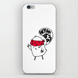 Punk Chick iPhone Skin