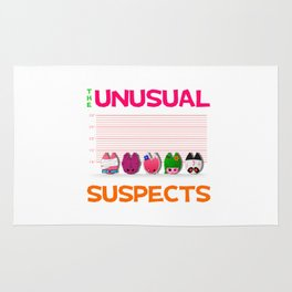The Unusual Suspects Rug