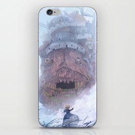 Howl's Castle iPhone Skin