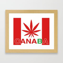 Canaba Framed Art Print