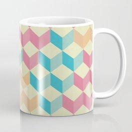 Sugar Cubes Geometric Pattern Coffee Mug