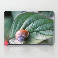 snail iPad Cases featuring snail by  Agostino Lo Coco