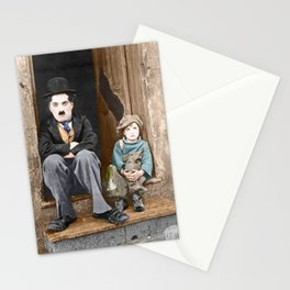 The Kid (1921) - Colorized Stationery Cards