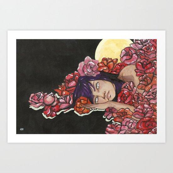 Moon Child Art Print