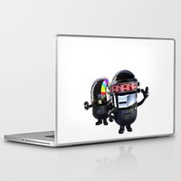 minions Laptop & iPad Skins featuring Daft Minion by Harry Martin