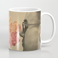 flora Mugs featuring Flora by onlyghosts