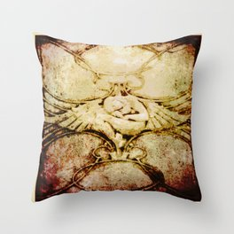 Sleeping Angel - Arts & Crafts Throw Pillow