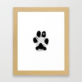 Paw Love Framed Art Print