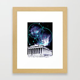Astral Geometry Framed Art Print