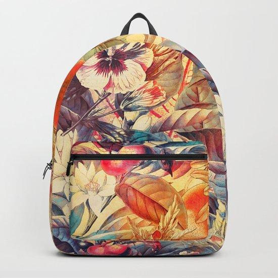 flowers 8 Backpack