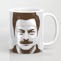 swanson Mugs featuring Swanson 'Diets' by courtney2k ⚓ design™