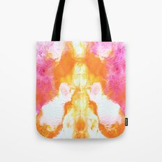 Orange Wings Tote Bag