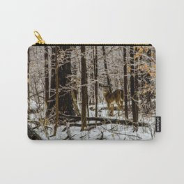 Deer in the Glistening Forest by Teresa Thompson Carry-All Pouch