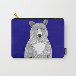 Blue Bear Carry-All Pouch