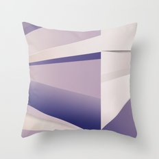 Purple Glam Throw Pillow
