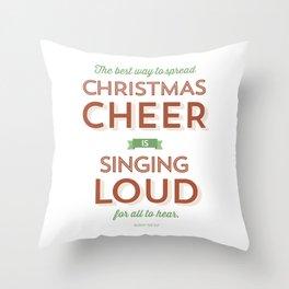 Christmas Cheer Throw Pillow