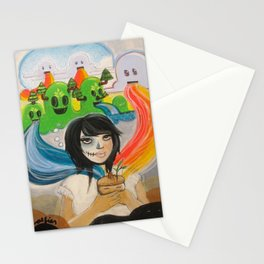 """Whoever is Born to the Earth Shall Return to the Earth"" Stationery Cards"