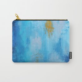 Abstract Ocean art, Renewed Daily Carry-All Pouch