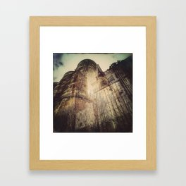 Silo architecture Montreal Framed Art Print