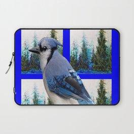 MOUNTAIN BLUE JAY SCENIC ART Laptop Sleeve