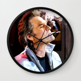 Kurt Russell as Stuntman Mike McKay in the film Death Proof (Quentin Tarantino - 2007) Wall Clock