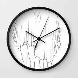 Little Ghosts Wall Clock