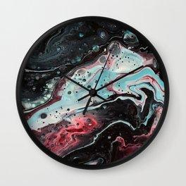 Vitreous Wall Clock