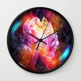 Wrap In Velvet Wall Clock