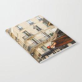 Walking through a parisian street Notebook