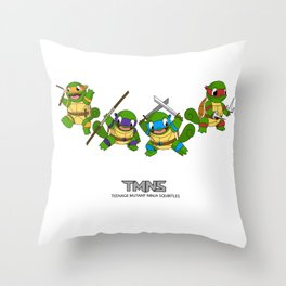 TMNS Throw Pillow